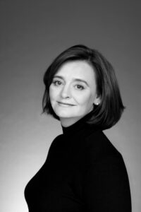 0. Cherie Blair Portrait  B&W
