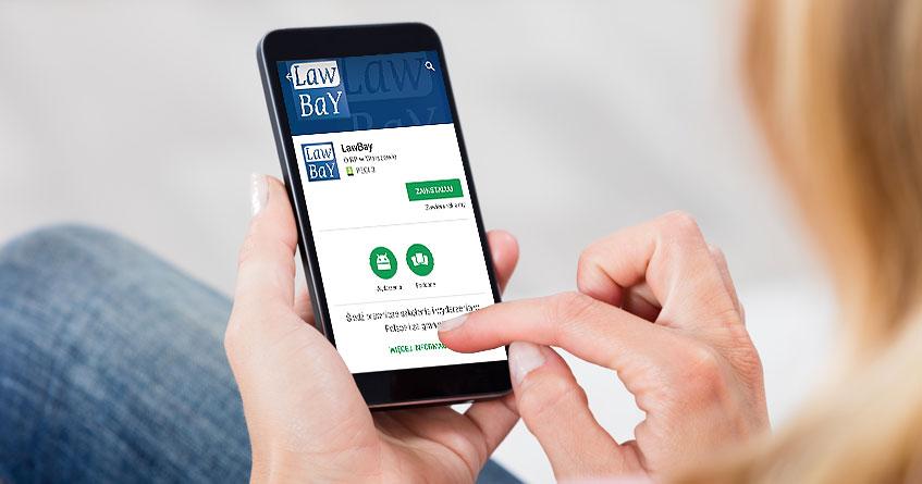 Aplikacja LawBay jest już dostępna!