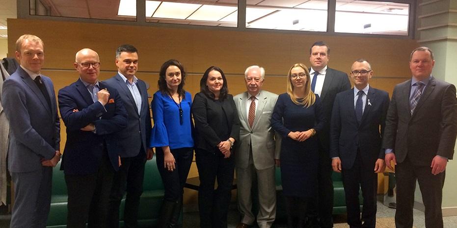Spotkanie władz warszawskich samorządów radcowskiego i adwokackiego