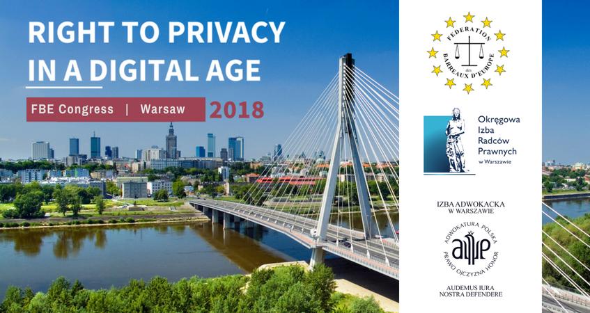 OIRP w Warszawie i ORA w Warszawie współorganizatorami Kongresu FBE 2018
