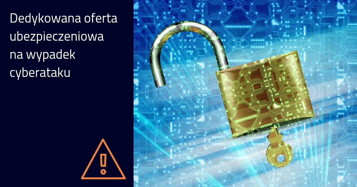 Cyberochrona – ubezpieczenie na wypadek utraty danych i naruszenia bezpieczeństwa informatycznego
