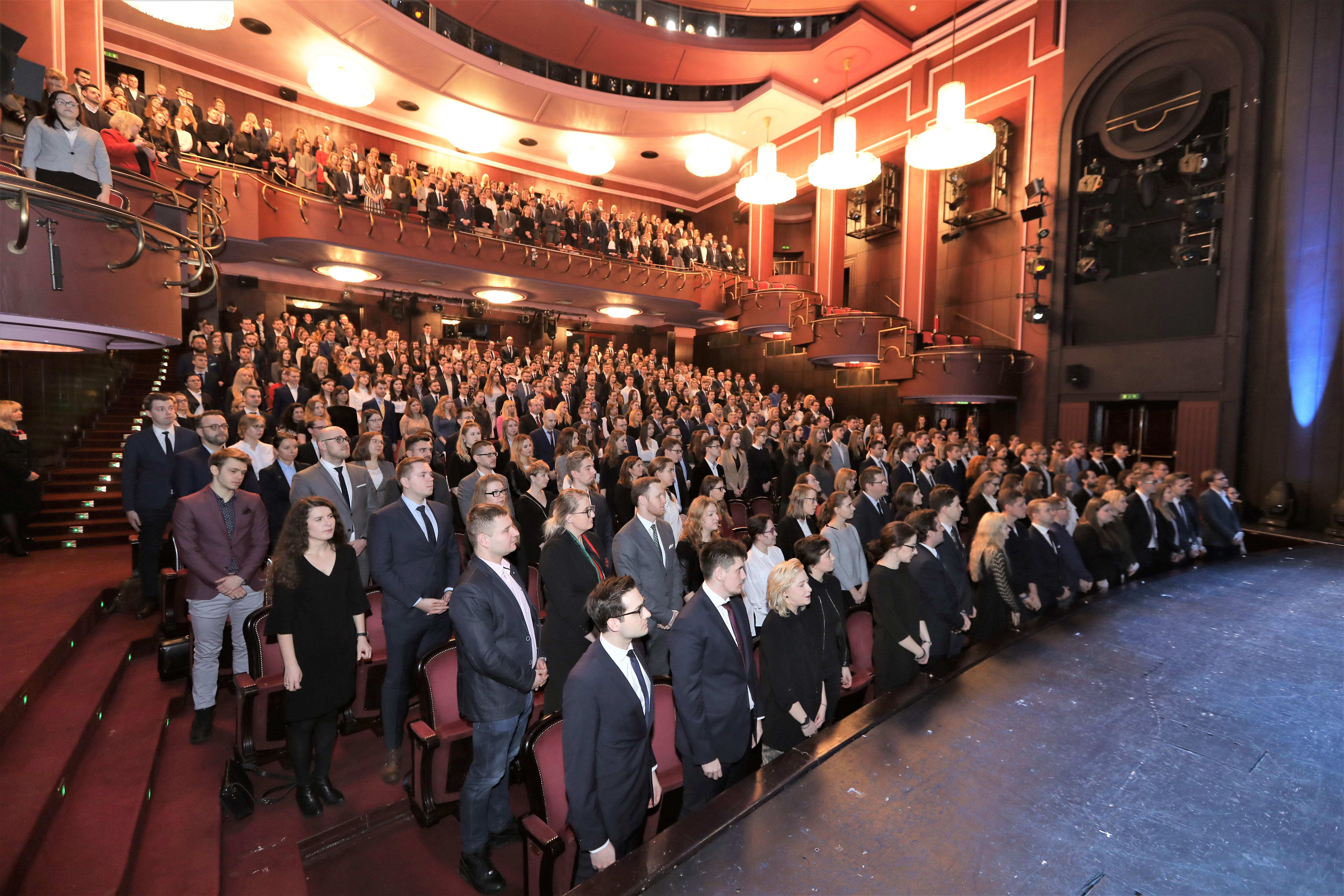 Ślubowanie aplikantów radcowskich OIRP w Warszawie