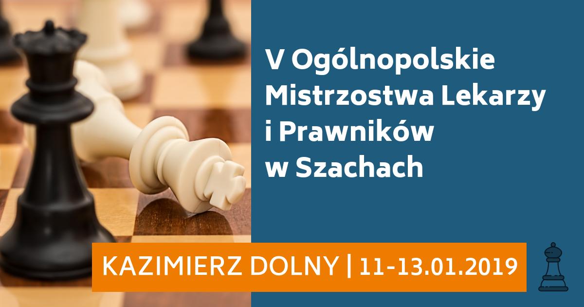 V Ogólnopolskie Mistrzostwa Lekarzy i Prawników w Szachach