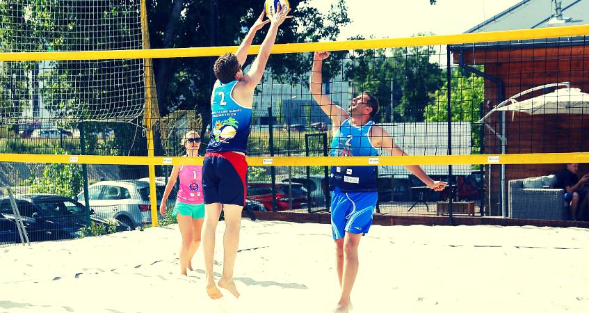 Drugi Towarzyski Turniej Siatkówki Plażowej o Puchar Dziekana Rady OIRP w Warszawie