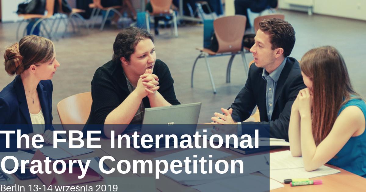 Pojedź do Berlina na międzynarodowy konkurs krasomówczy FBE
