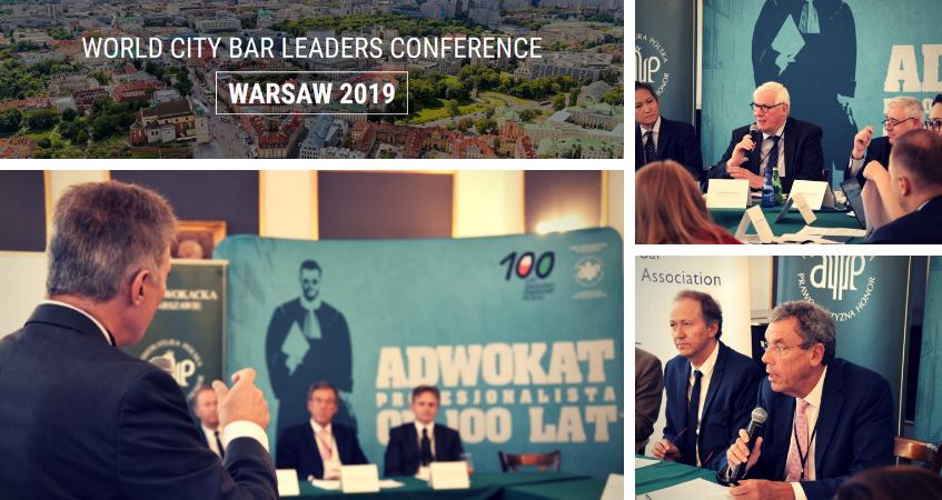 Liderzy światowych izb prawniczych spotykają się w Warszawie – WCBL 2019