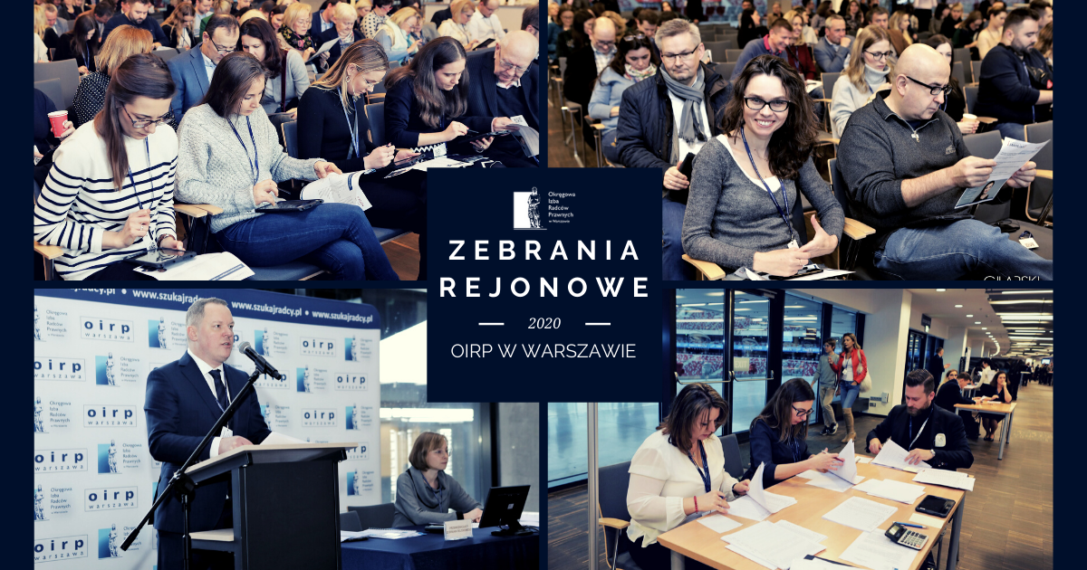 Zebrania rejonowe 2020 – wyniki wyborów