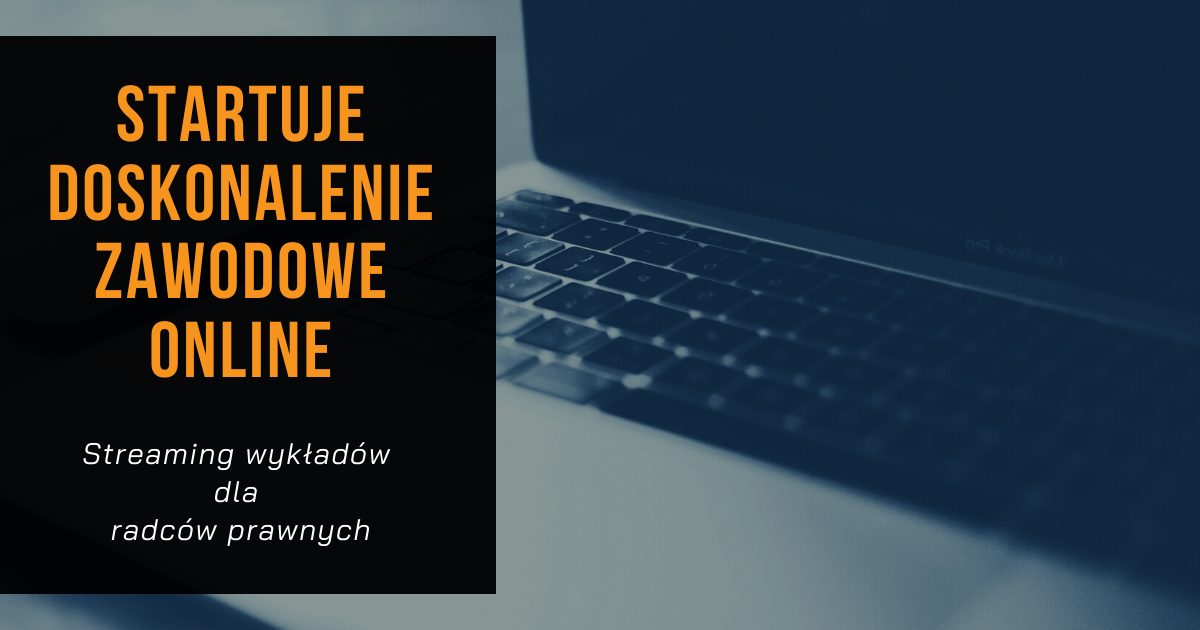 Rusza doskonalenie zawodowe online!